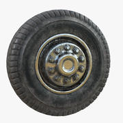 Wheel Dirty 3d model