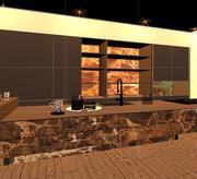 Onyx kitchen design 3d model