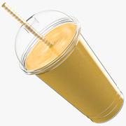Mango Milk Shake 3d model
