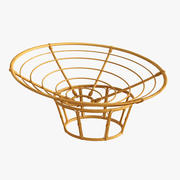 rattan chair JYSK 3d model
