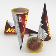 ネスレライオンアイスクリーム110mlコーン 3d model