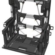 ガンダムシステムベース001 3d model