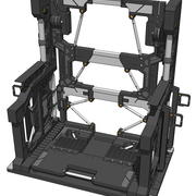 Gundam Systeembasis 001 3d model