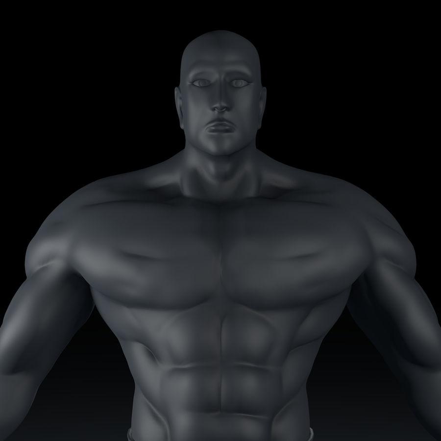 Hombre humano royalty-free modelo 3d - Preview no. 4