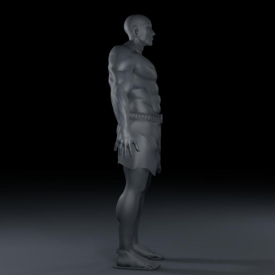 Hombre humano royalty-free modelo 3d - Preview no. 7