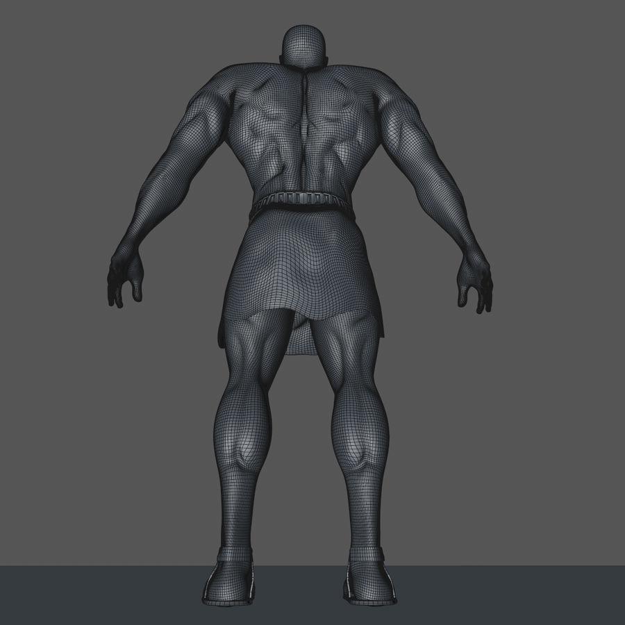 Hombre humano royalty-free modelo 3d - Preview no. 14