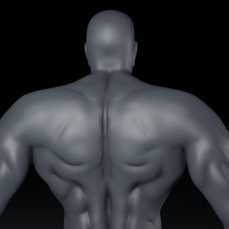 Hombre humano royalty-free modelo 3d - Preview no. 5