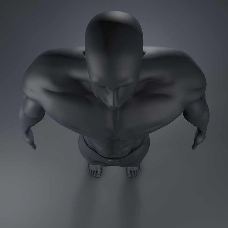 Hombre humano royalty-free modelo 3d - Preview no. 9