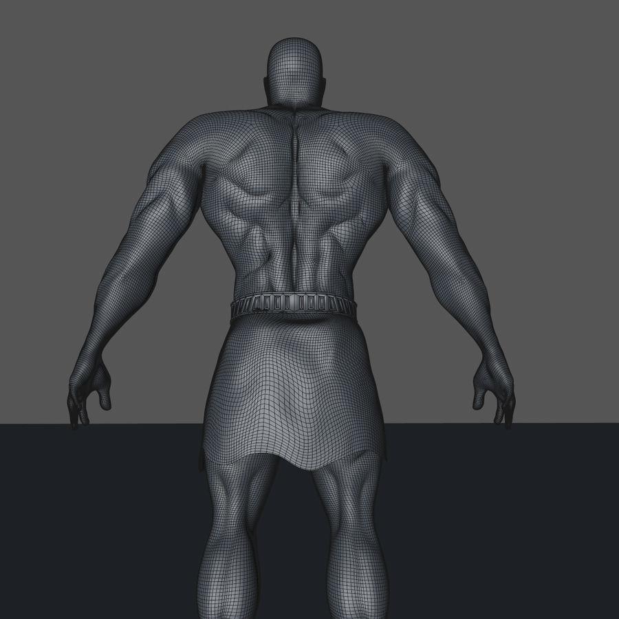 Hombre humano royalty-free modelo 3d - Preview no. 11