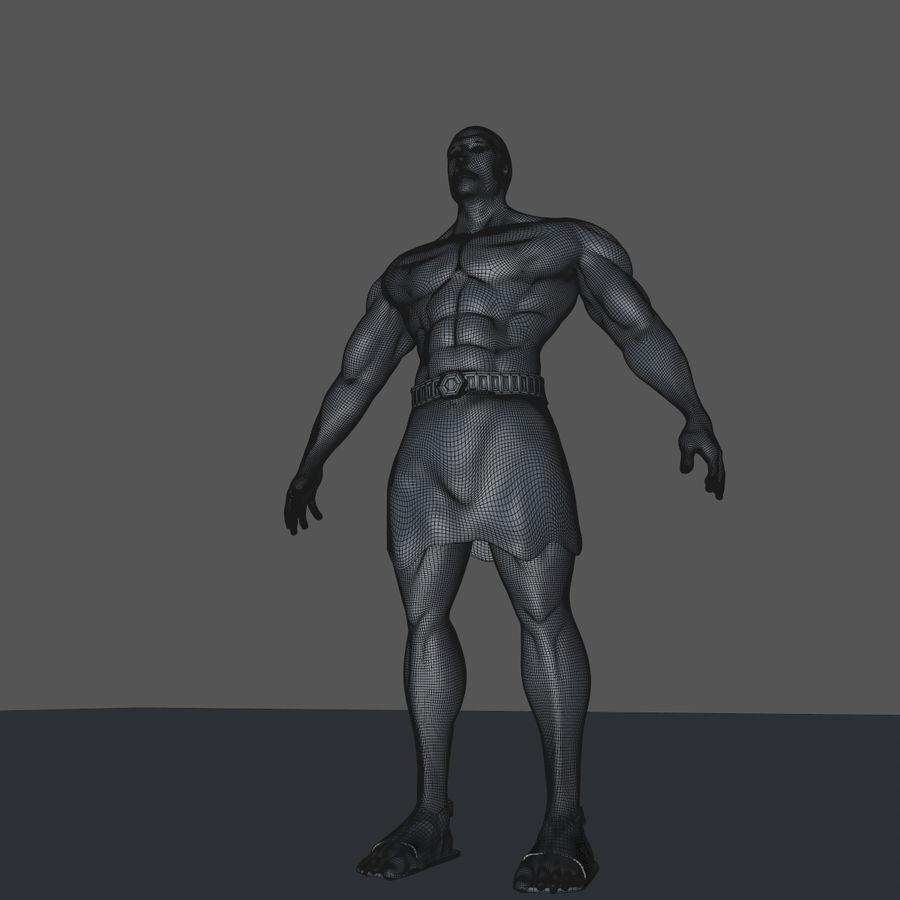Hombre humano royalty-free modelo 3d - Preview no. 13