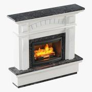 暖炉のデザイン 3d model