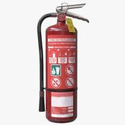 Fire Extinguisher HD 3d model