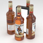 Alcohol Bottle Captain Morgan Original Spiced Gold 700ml 3d model