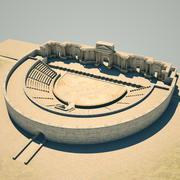 Teatr rzymski 3d model
