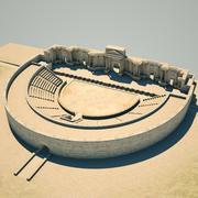 Teatro Romano 3d model