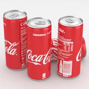 Beverage Can Coca-Cola 330ml Tall 3d model