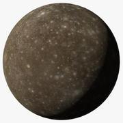 Callisto J4 Jupiter Moon 3d model