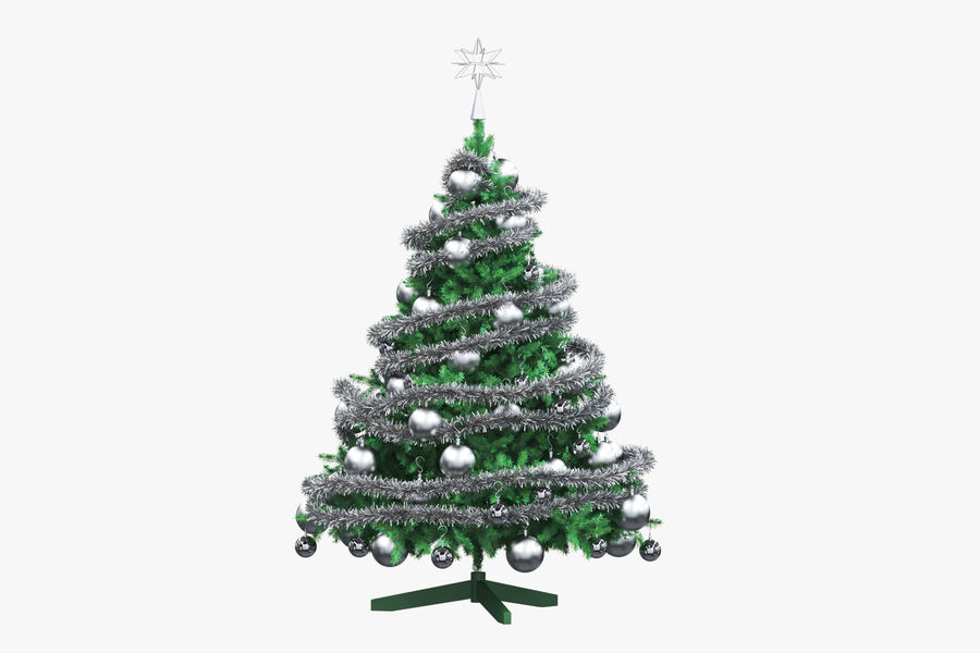 Weihnachtsbaum royalty-free 3d model - Preview no. 6