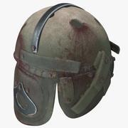 Apocalyptic Helmet 01 3d model