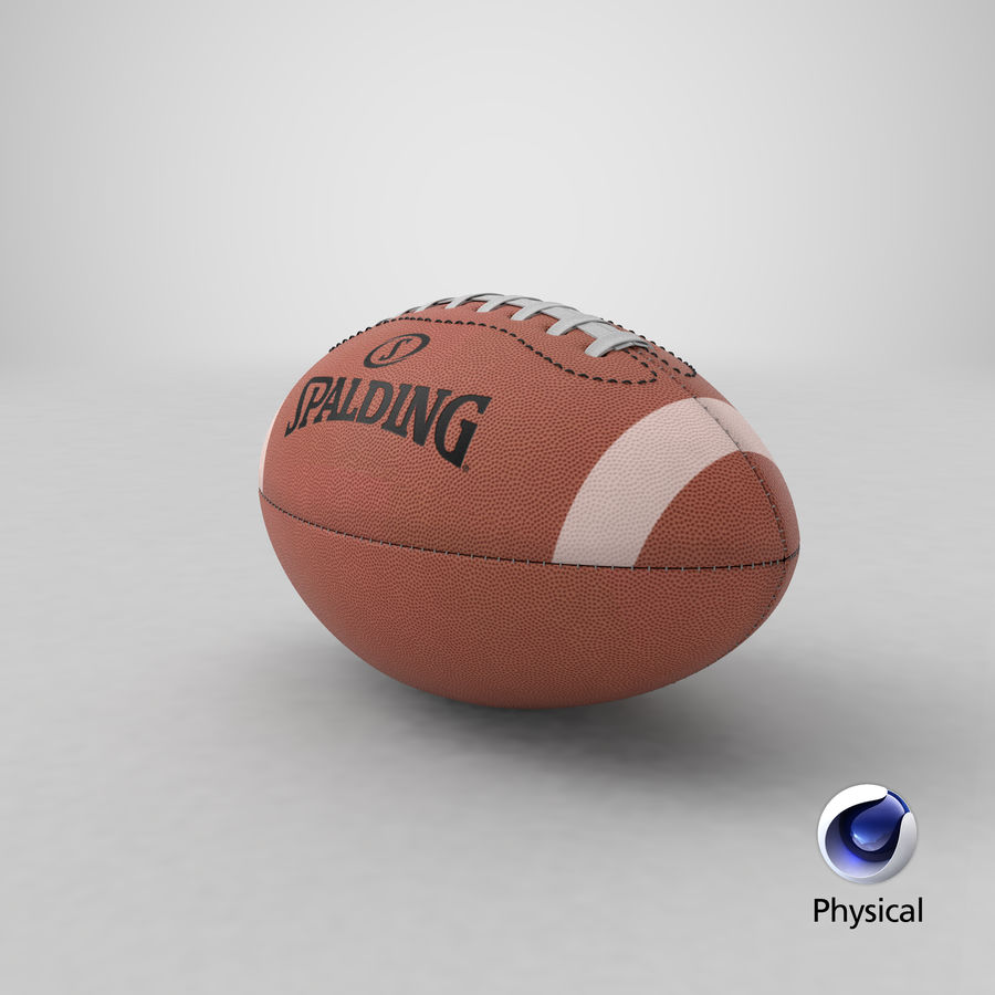 futbol amerykański royalty-free 3d model - Preview no. 21
