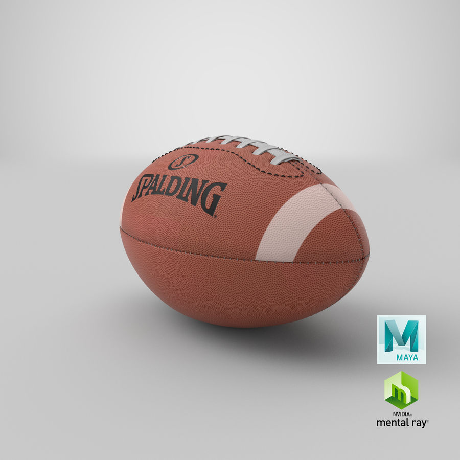futbol amerykański royalty-free 3d model - Preview no. 18