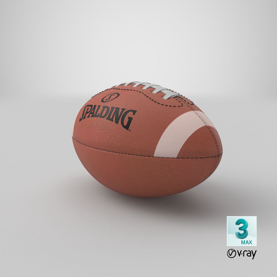 futbol amerykański royalty-free 3d model - Preview no. 19