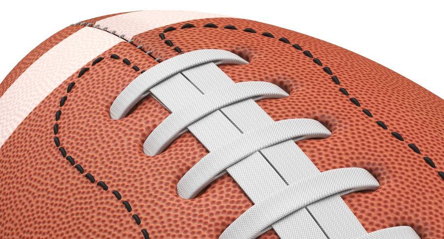 Fútbol americano 3D royalty-free modelo 3d - Preview no. 7