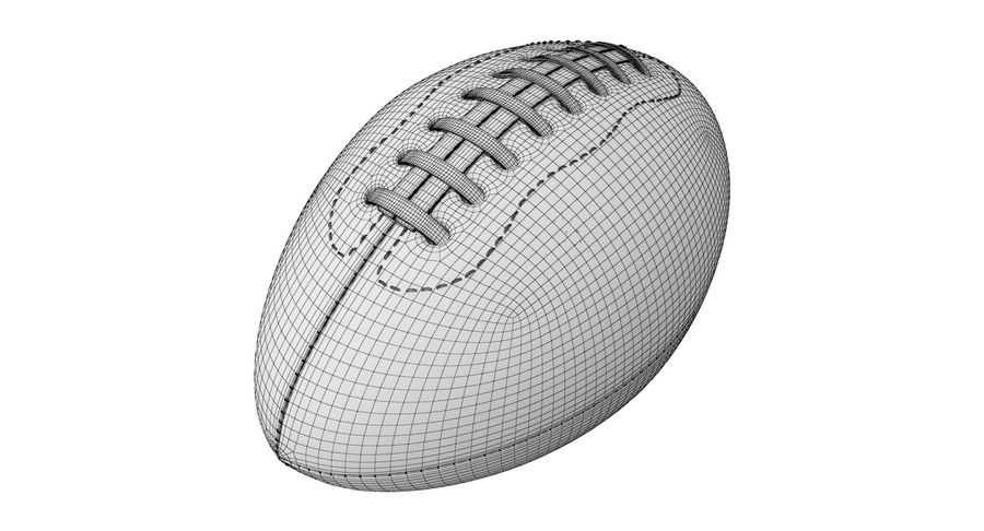 Fútbol americano 3D royalty-free modelo 3d - Preview no. 11