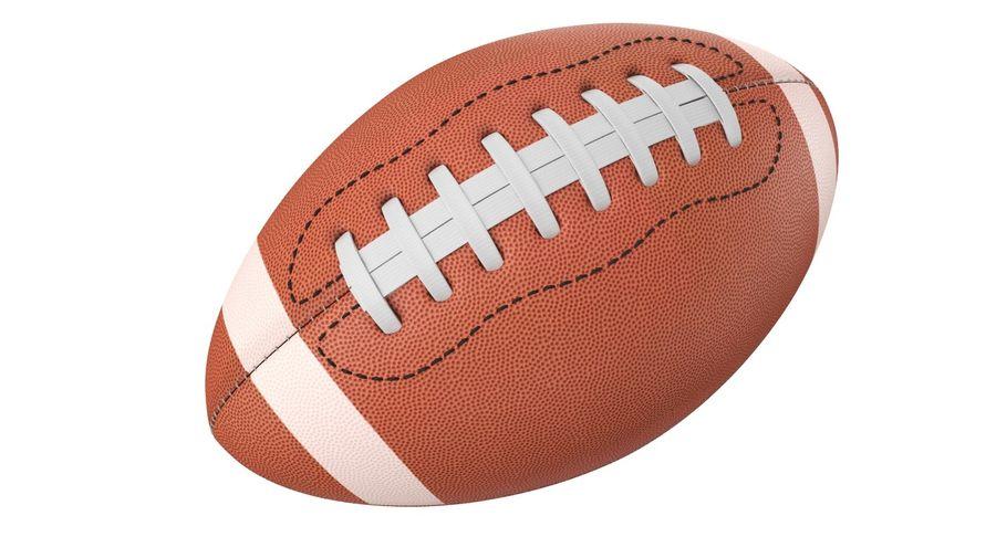 Fútbol americano 3D royalty-free modelo 3d - Preview no. 5