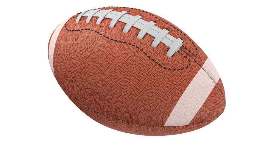 Fútbol americano 3D royalty-free modelo 3d - Preview no. 6