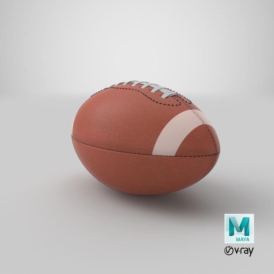 Fútbol americano 3D royalty-free modelo 3d - Preview no. 15