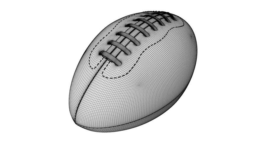 Fútbol americano 3D royalty-free modelo 3d - Preview no. 12