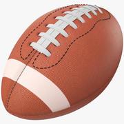 3D American Football 3d model