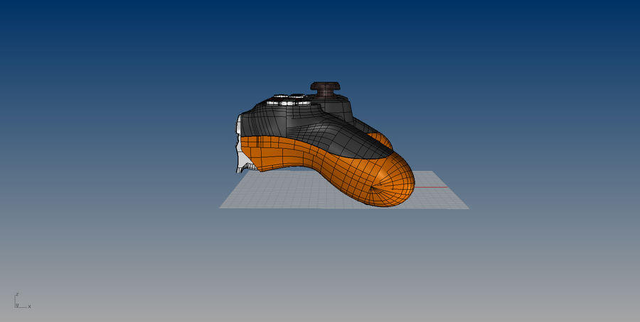 NURBS DUALSHOCK 4 royalty-free 3d model - Preview no. 11