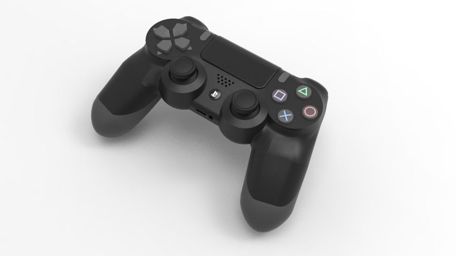 NURBS DUALSHOCK 4 royalty-free 3d model - Preview no. 1