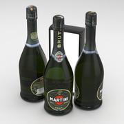 마티니 단맛 750ml 3d model