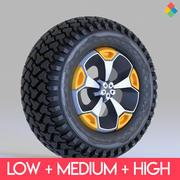Tire Wheel Design Rim 3d model
