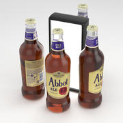 Butelka piwa Greene King Abbot Ale 500ml 3d model