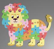 Alphabet Puzzle 3d model
