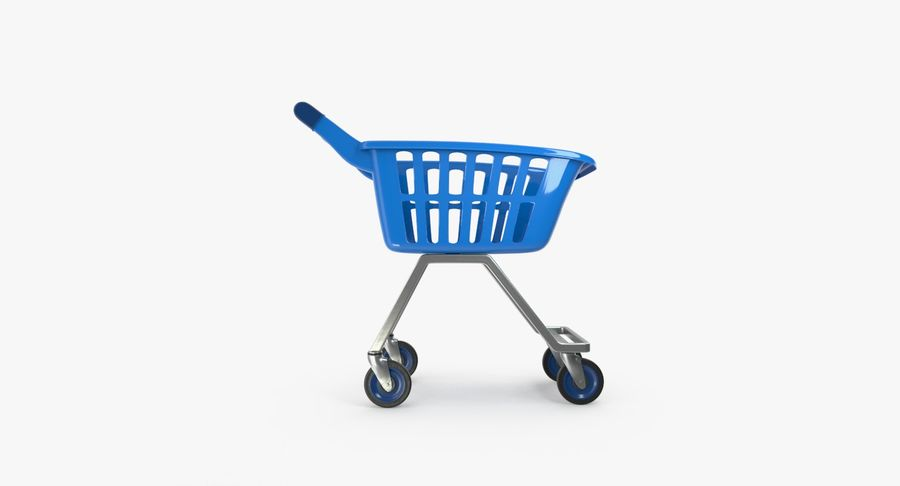 Kids shoping cart royalty-free 3d model - Preview no. 11