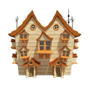 Fantasy House 02 3d model