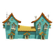 Fantasy House 06 3d model