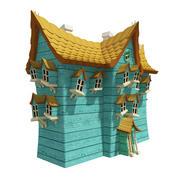 Fantasy House 07 3d model