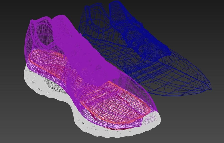 Pegasus 35 royalty-free 3d model - Preview no. 7