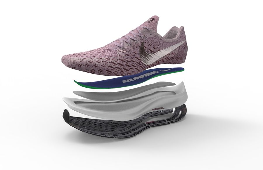 Pegasus 35 royalty-free 3d model - Preview no. 4