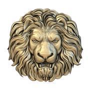 Mask 008 lion 3d model