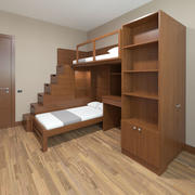 儿童床 3d model
