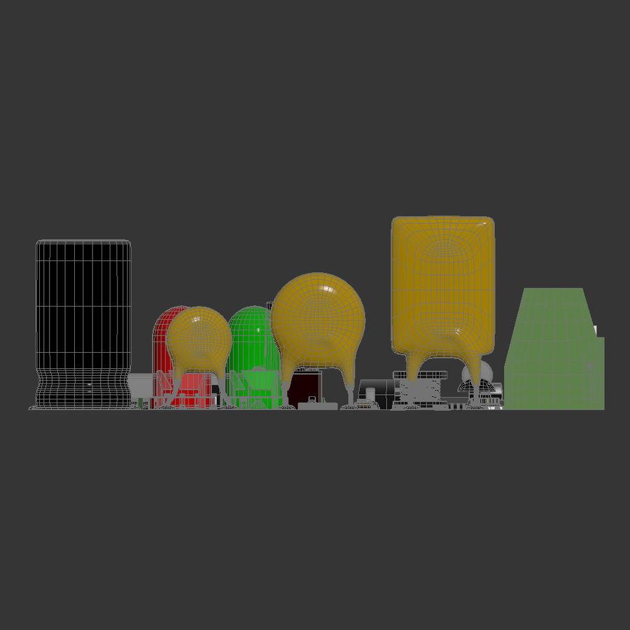 Componentes electrónicos royalty-free modelo 3d - Preview no. 6