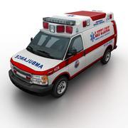 Generic Ambulance v.01 3d model