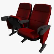 Кинотеатр Стул 3d model
